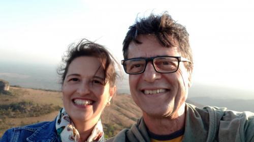Miklos e Márjorie em Guimarães, 2019